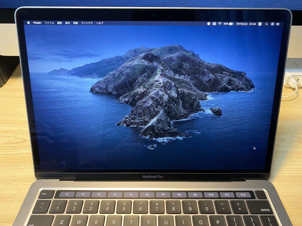 MacBook Proのベゼル