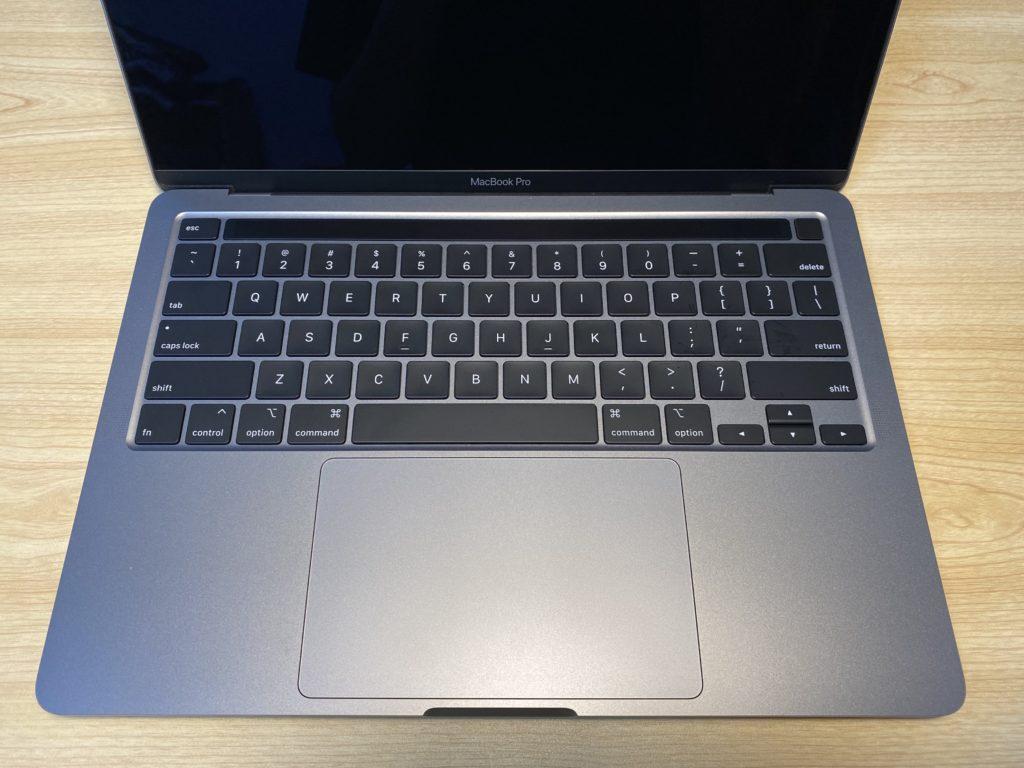 新しくなったキーボード