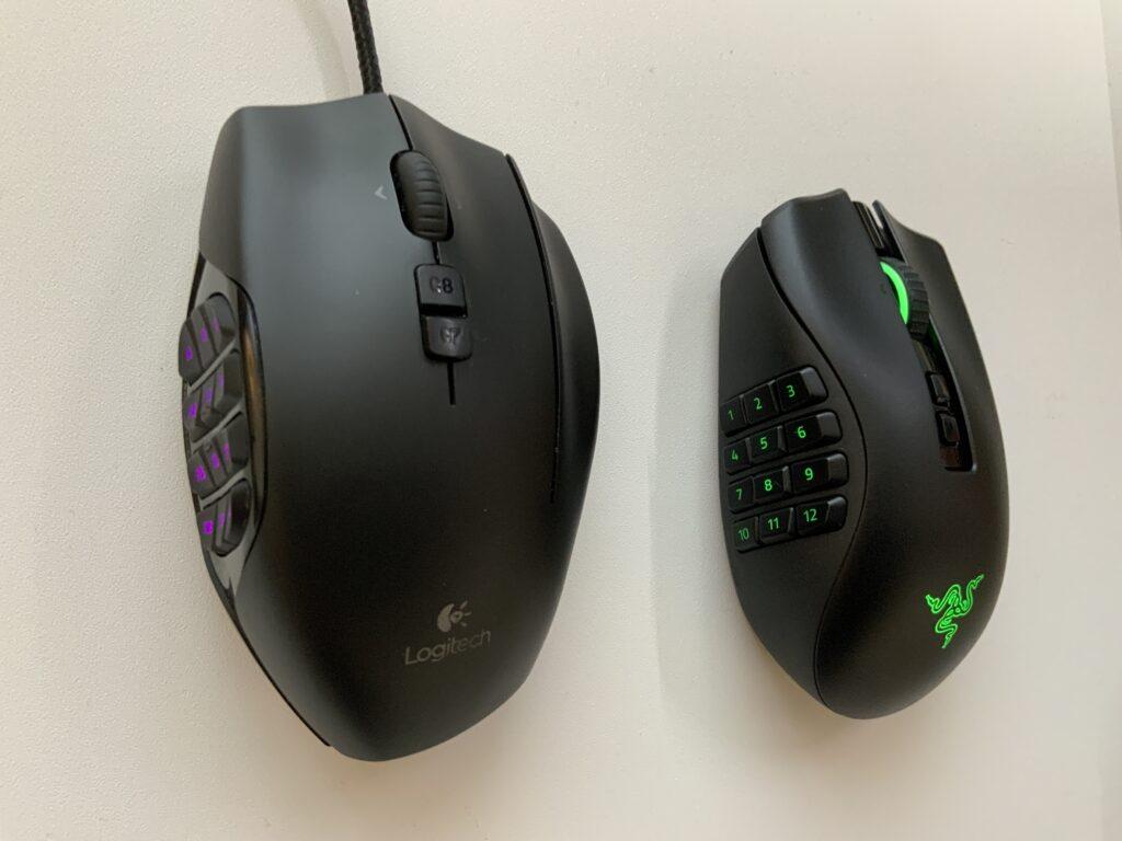 NagaProとG600