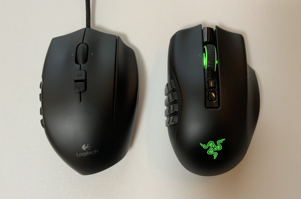 NagaProとG600の比較