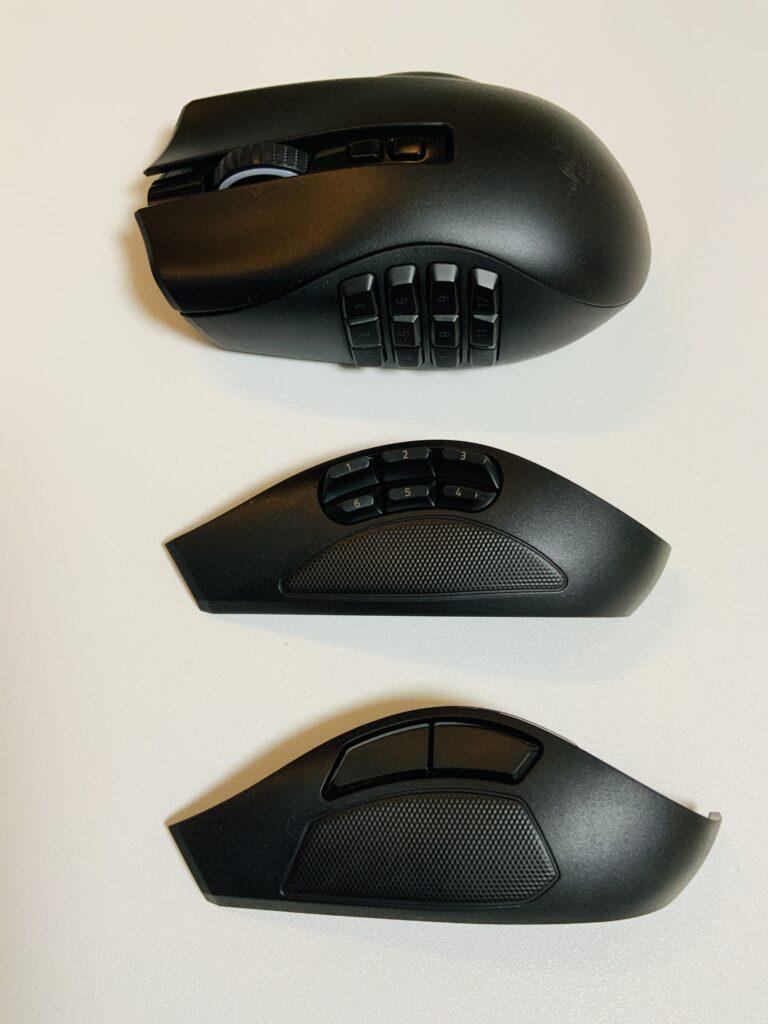 NagaProのサイドボタン