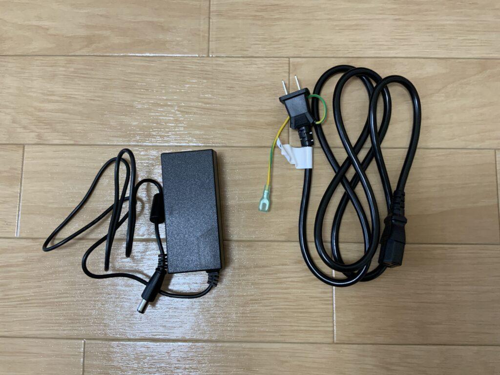EW2480の電源コード